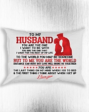 Marine Husband To Me You Are The World Rectangular Pillowcase aos-pillow-rectangle-front-lifestyle-4