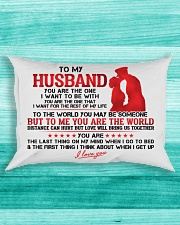 Marine Husband To Me You Are The World Rectangular Pillowcase aos-pillow-rectangle-front-lifestyle-5