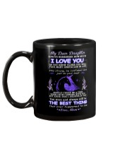 My Daughter Remember How Much I Love You Unicorn  Mug back
