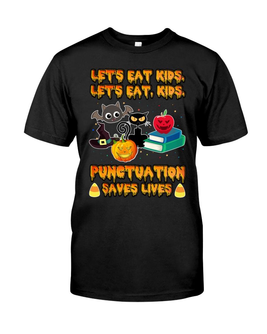 Let's Eat Kids Let's Eat Kids Teacher Classic T-Shirt