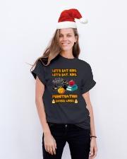 Let's Eat Kids Let's Eat Kids Teacher Classic T-Shirt lifestyle-holiday-crewneck-front-1