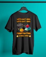 Let's Eat Kids Let's Eat Kids Teacher Classic T-Shirt lifestyle-mens-crewneck-front-3