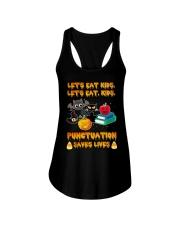 Let's Eat Kids Let's Eat Kids Teacher Ladies Flowy Tank thumbnail