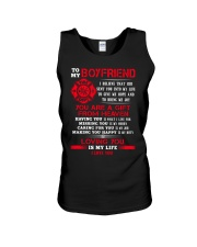 Firefighter Boyfriend Loving You Is My Life Unisex Tank thumbnail