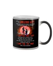 Family Wife Love You More Mug CC Color Changing Mug thumbnail