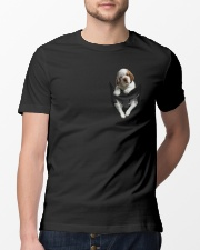 Dog In The Pocket Classic T-Shirt lifestyle-mens-crewneck-front-13