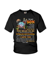 Hippies Mom Son Last Breath To Say Love  Youth T-Shirt thumbnail