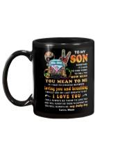 Hippies Mom Son Last Breath To Say Love  Mug back