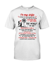When Life Gets Hard And You Feel All Alone Family Classic T-Shirt thumbnail