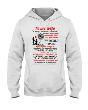 When Life Gets Hard And You Feel All Alone Family Hooded Sweatshirt thumbnail
