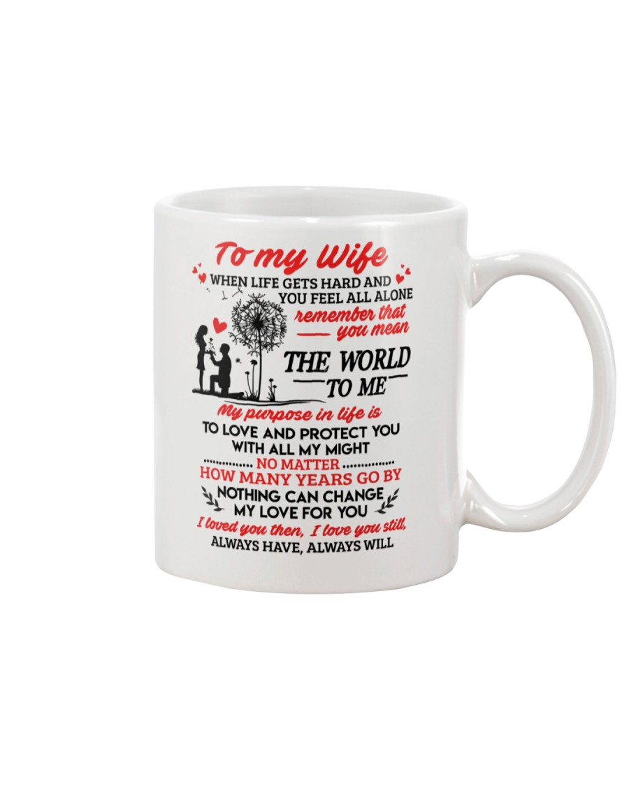When Life Gets Hard And You Feel All Alone Family Mug