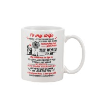 When Life Gets Hard And You Feel All Alone Family Mug front