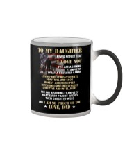 You Are Shining Example Veteran  Color Changing Mug tile