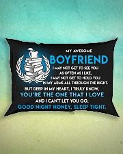 Teacher Boyfriend Good Night Sleep Tight Pillow Rectangular Pillowcase aos-pillow-rectangle-front-lifestyle-3