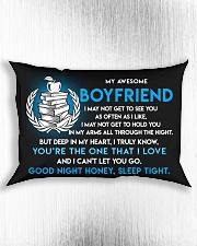 Teacher Boyfriend Good Night Sleep Tight Pillow Rectangular Pillowcase aos-pillow-rectangle-front-lifestyle-4
