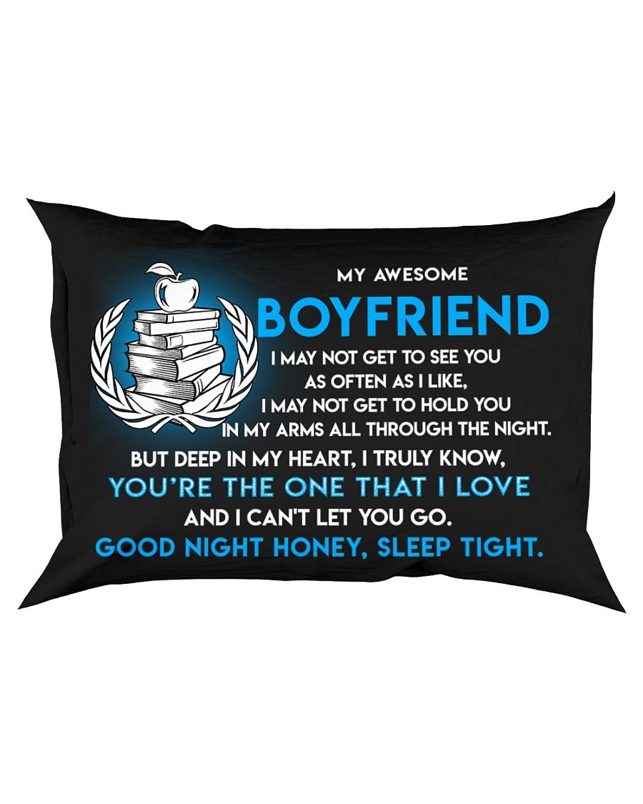 Teacher Boyfriend Good Night Sleep Tight Pillow Rectangular Pillowcase
