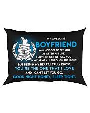 Teacher Boyfriend Good Night Sleep Tight Pillow Rectangular Pillowcase front