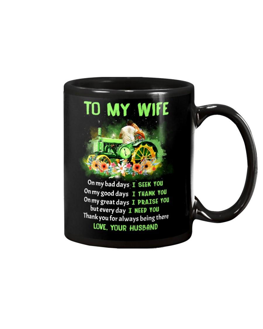 On my Bad Days I Seek You Farmer Mug