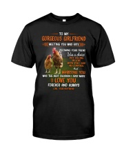 To My Gorgeous Wife Meeting You Was Fate Chicken  Classic T-Shirt thumbnail