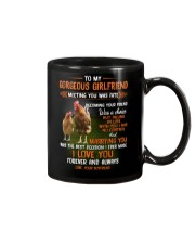To My Gorgeous Wife Meeting You Was Fate Chicken  Mug front