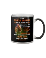 To My Gorgeous Wife Meeting You Was Fate Chicken  Color Changing Mug thumbnail