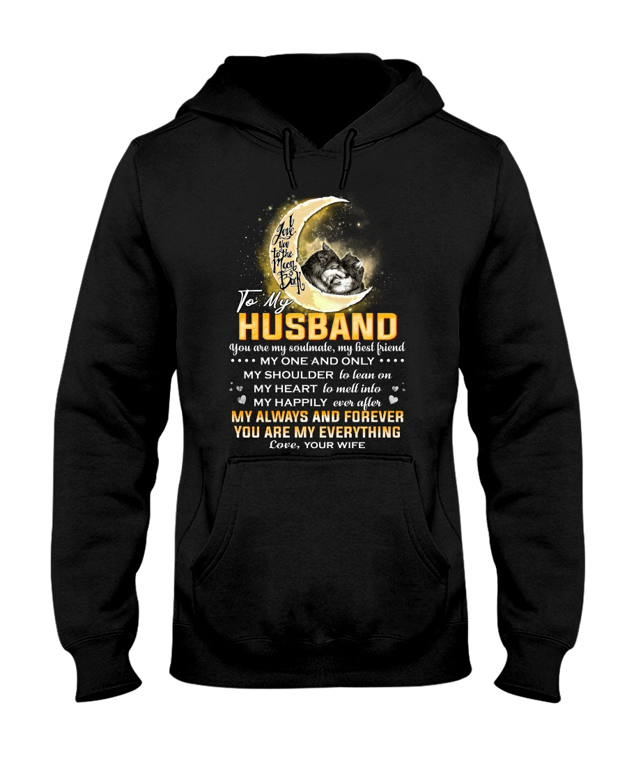 Wolf Husband I'm Not Perfect Mug CC Hooded Sweatshirt