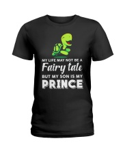 Turtle My Son Is My Prince Ladies T-Shirt thumbnail
