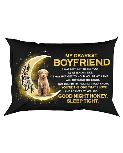 Goldendoodle Boyfriend Sleep Tight