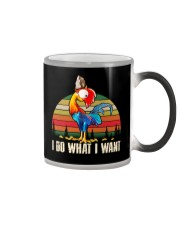 I Do What I Want Color Changing Mug tile