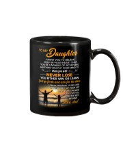 I Want You To Believe Deep In Your Heart Family Mug front