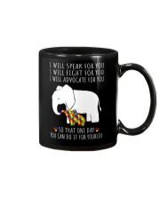 I Will Speak For You Autism Elephant  Mug thumbnail