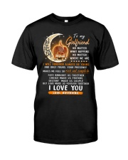 Cat Girlfriend Love Made Us Forever Together  Classic T-Shirt thumbnail