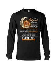 Cat Girlfriend Love Made Us Forever Together  Long Sleeve Tee thumbnail