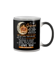 Cat Girlfriend Love Made Us Forever Together  Color Changing Mug thumbnail