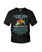 Turtle Bold Brave Strong Son  Youth T-Shirt thumbnail