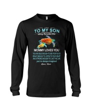 Turtle Bold Brave Strong Son  Long Sleeve Tee thumbnail
