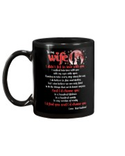 To My wife I Didnt Fall In Love With You Family Mug back