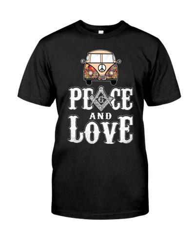 FREEMASON PEACE AND LOVE