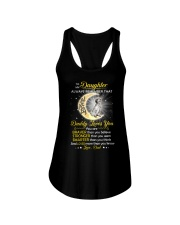 English setter Daughter Dad Daddy Loves You Ladies Flowy Tank thumbnail