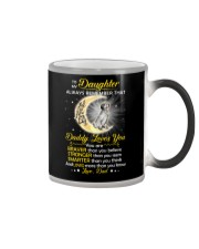 English setter Daughter Dad Daddy Loves You Color Changing Mug thumbnail