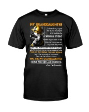 Firefighter Granddaughter I Closed My Eyes Classic T-Shirt thumbnail