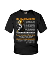 Firefighter Granddaughter I Closed My Eyes Youth T-Shirt thumbnail