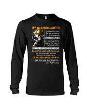 Firefighter Granddaughter I Closed My Eyes Long Sleeve Tee thumbnail