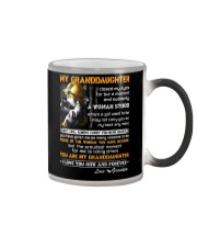 Firefighter Granddaughter I Closed My Eyes Color Changing Mug color-changing-right