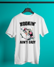 Hookin' Easy Fishing Classic T-Shirt lifestyle-mens-crewneck-front-3