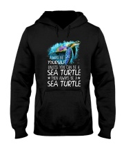 Always Be Yourself Turtle Hooded Sweatshirt thumbnail