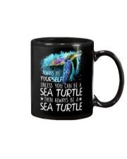 Always Be Yourself Turtle Mug front