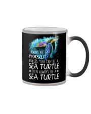 Always Be Yourself Turtle Color Changing Mug thumbnail