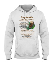 Sometimes It's Hard To Find Word To Tell You Otter Hooded Sweatshirt tile