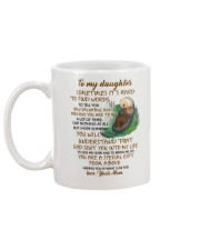 Sometimes It's Hard To Find Word To Tell You Otter Mug back